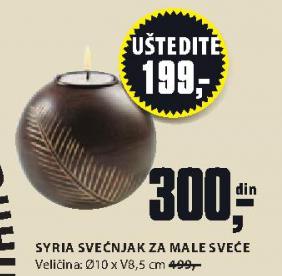 Svećnjak ''Syria'' za male sveće