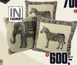 Ukrasni jastuk slon/zebra