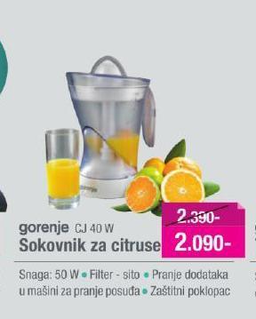 Cediljka za citruse Cj 40 W