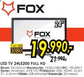 Televizor LED LCD 24LE200
