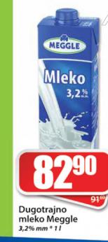 Sveže mleko 3,2% mm