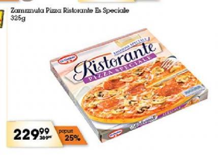 Smrznuta pizza es speciale