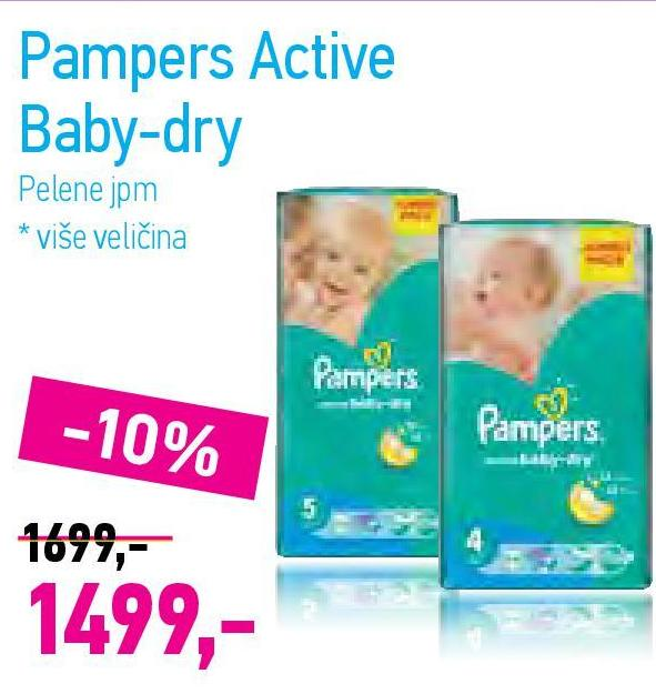 Pelene active baby dry