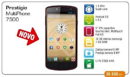 Mobilni telefon MultiPhone 7500