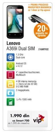 Lenovo A369i Dual Sim