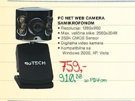 PC Net Web camera sa mikrofonom