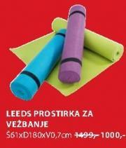 Prostirka za vežbanje Leeds