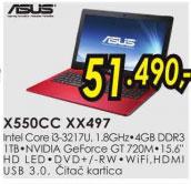 Laptop X550CC-XX497