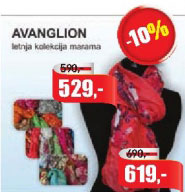 Avanglion Letnja kolekcija marama