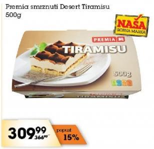 Smrznuti desert tiramisu