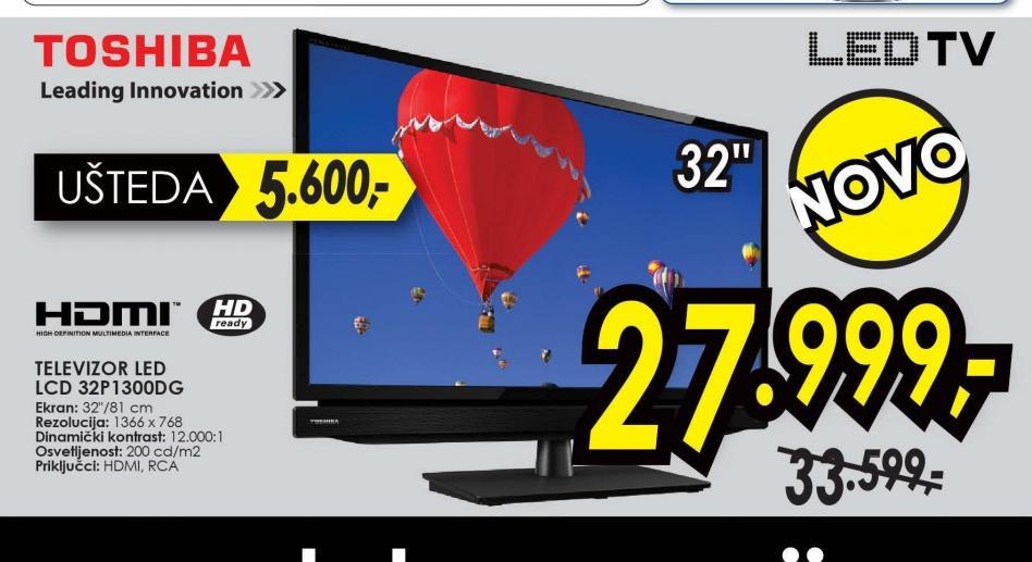Televizor LED LCD 32P1300DG
