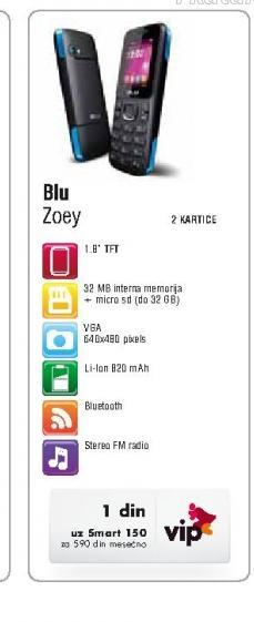 Mobilni telefon Zoey