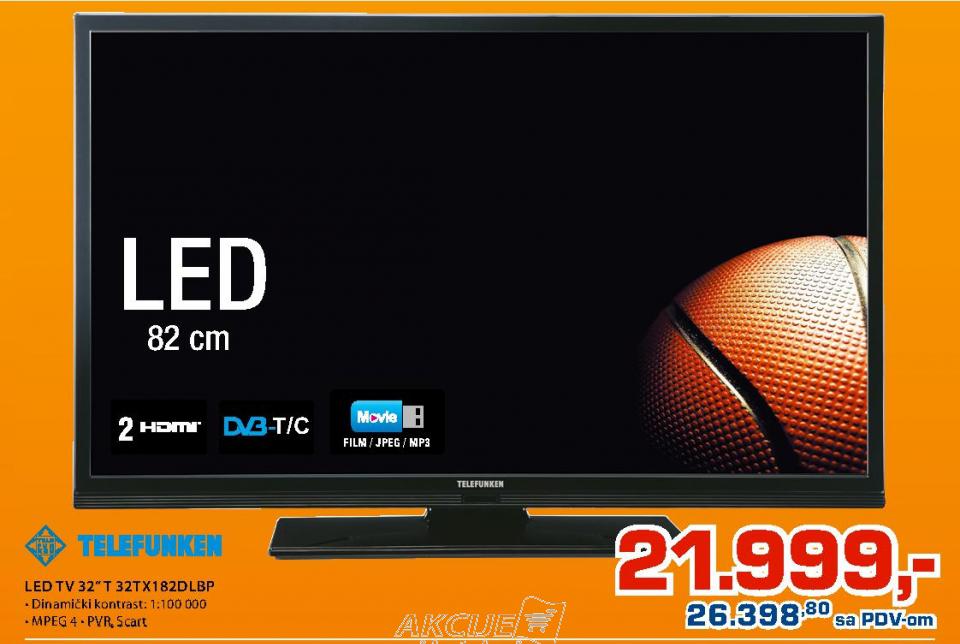 LED TV 32'' 32tx182dlbp