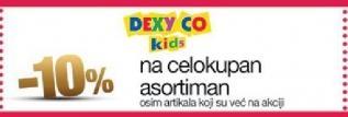 10% popusta u radnji Dexy Co Kids