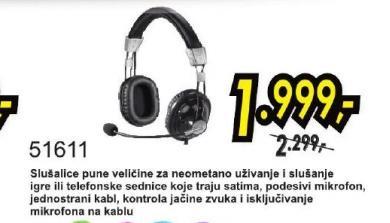 Slušalice 51611