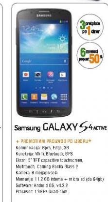 Telefon mobilni Galaxy S4 Active