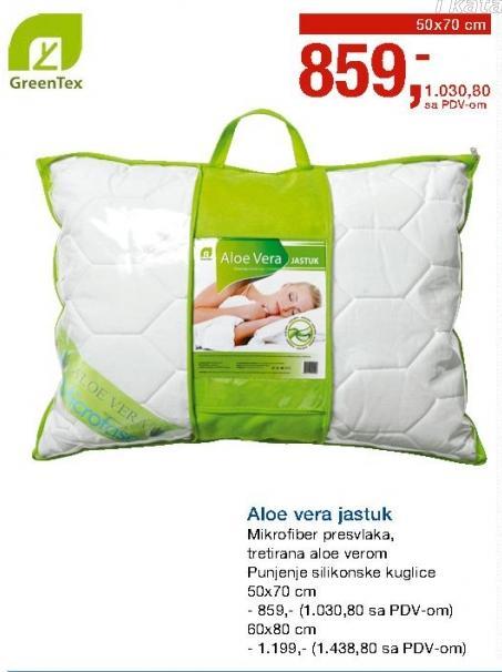 Jastuk Green Tex