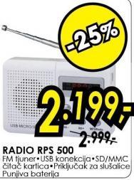 Radio Rps 500