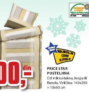 Posteljina Price Star