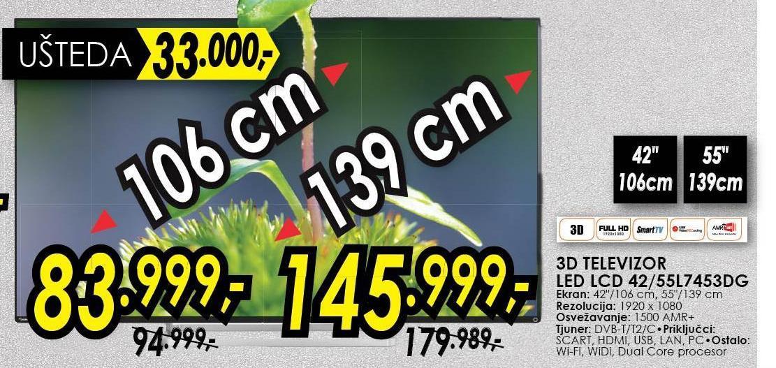 Televizor 42L7453DG