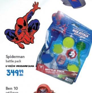 Igračka spiderman