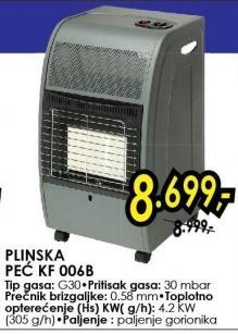 PLinska peć KF 006B