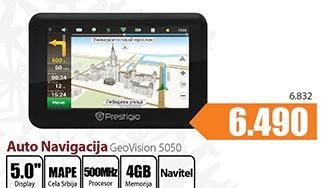 Auto navigacija GeoVision5050