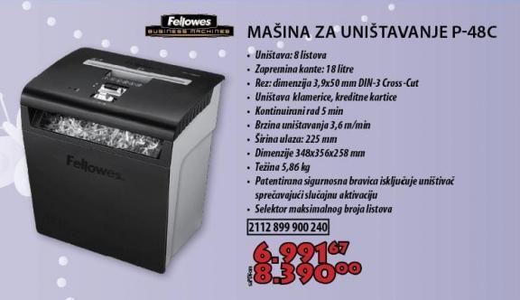 Mašina Za Uništavanje Dokumenata