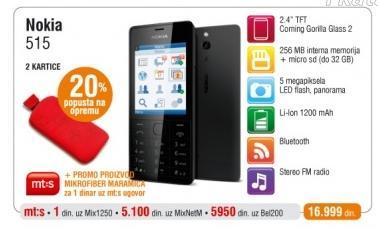 Mobilni Telefon Nokia 515