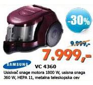 Usisivač VC-4360