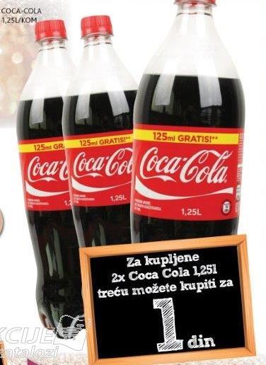 Coca Cola 1,25l/kom