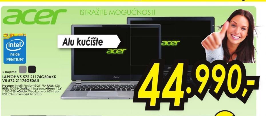 Laptop Aspire V5-572-21174G50aii
