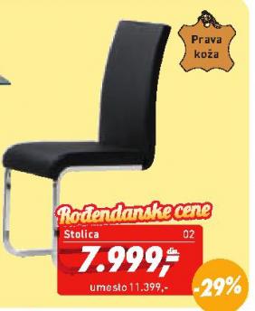 Trpezarijska stolica Merlino