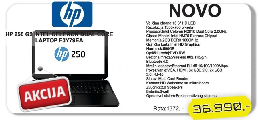 Laptop 250 G2 F0Y79EA