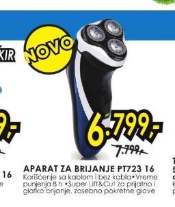Aparat za brijanje PT 723/16