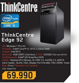 Desktop računar think centre Edge 92