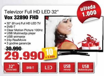 """Televizor LED 32"""" 32890 Fhd"""