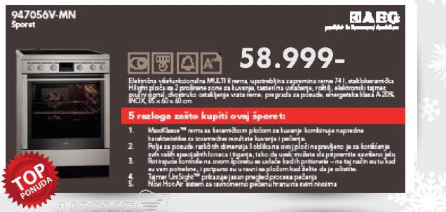 Šporet 947056V-MN
