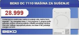 Mašina Za Sušenje DC 7110