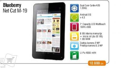 Tablet NETCAT M19