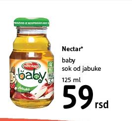 Baby sok od jabuke