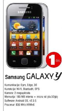 Telefon mobilni Galaxy Y