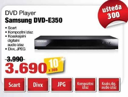 DVD plejer DVD-E350