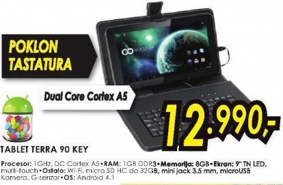 Tablet TERRA 90 KEY