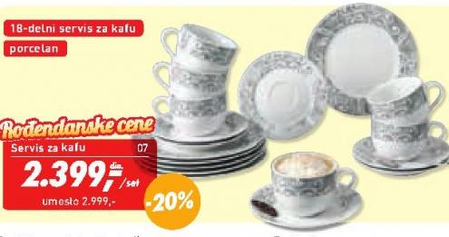 Servis za kafu ''Palazzo''