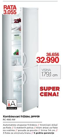 Kombinovani frižider RC4180AW