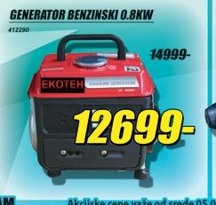 Generator benzinski