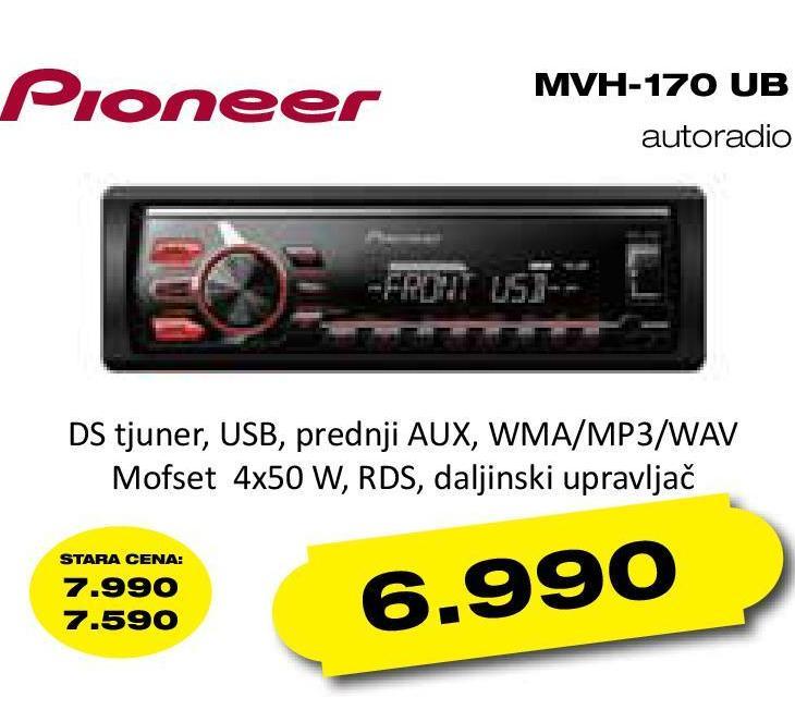 Auto radio Mvh-170ub