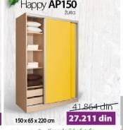 Garderober happy AP150 Žuto