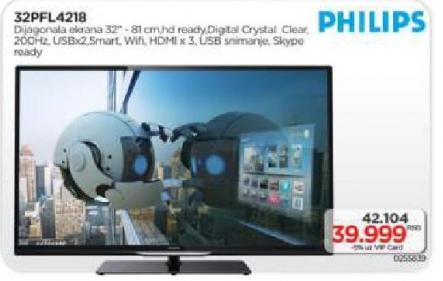 LED Tv 32Pfl4218